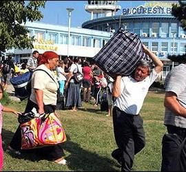 Gitanos rumanos.