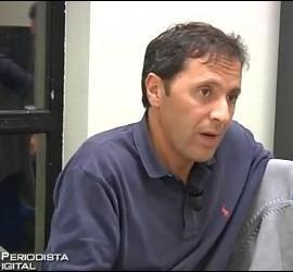 Paco González, durante la entrevista con PD.