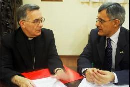 Firma del Acuerdo entre San Pablo y la JMJ