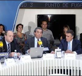 Javier Pons y Augusto Delkáder en la presentación de la temporada de la SER.