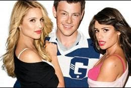 Dianna Agron, Cory Monteith y Lea Michele