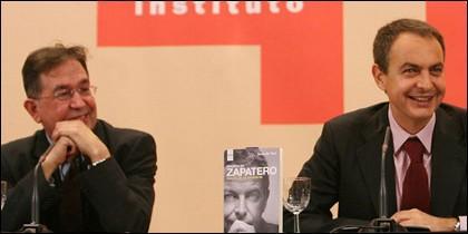 Suso de Toro presentando 'Madera de Zapatero'.