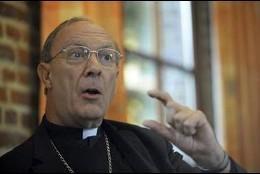 Monseñor Léonard, arzobispo de Bruselas