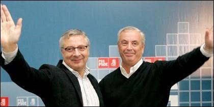 José Blanco y Pachi Vázquez.