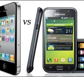 iPhone 4 vs Samsung Galaxy S.