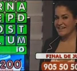 Aida Nizar, en un Call-Tv.