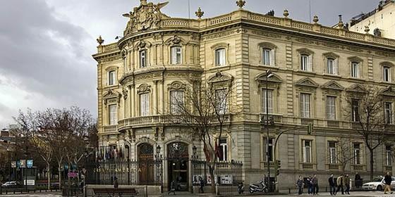 El palacio de linares se convierte en lugar de juego para for Casa america madrid