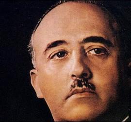 El general Francisco Franco.