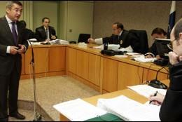 Carlos Sosa y su habitual cita en los juzgados