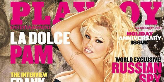 anderson de desnuda foto pamela. Pamela Anderson en PlayBoy.