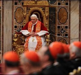 El Papa, en su discurso ante la Curia romana