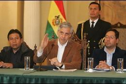 El vicepresidente de Bolivia, Álvaro García Linera