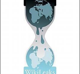 Fotografía de archivo fechada el 25 de julio de 2010 que muestra el logotipo de WikiLeaks.
