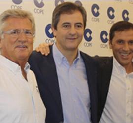 Pepe Domingo Castaño, Manolo Lama y Paco González.