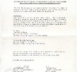 Ministerio del interior reconoce validez de las elecciones for Ministerio del interior elecciones