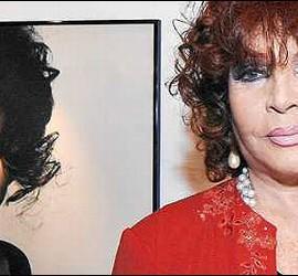 Sara Montiel, antes y ahora.