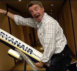 O'Leary, dueño de Ryanair.
