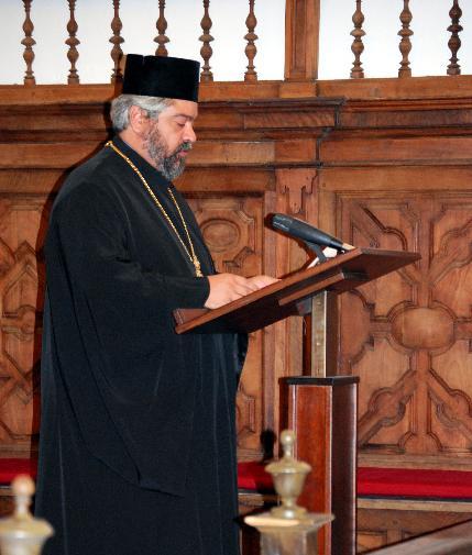 Presidida por el metropolita Policarpo del patriarcado de Constantinopla clipping Se presenta en sociedad la Conferencia episcopal ortodoxa de España y Portugal