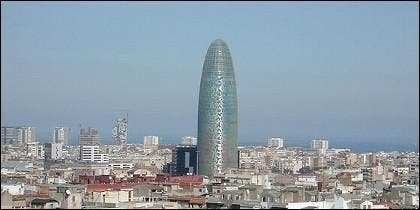 La Torre Agbar, en Barcelona.