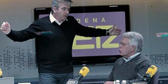 Gonz lez cree que a zapatero se le acaba el tiempo para for Cadena ser carles francino