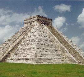 Monumento maya.