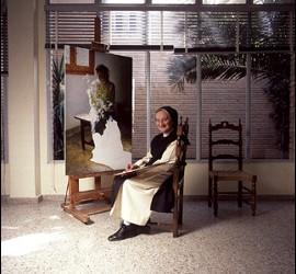 Isabel Guerra, la monja pintora, vive enel convento