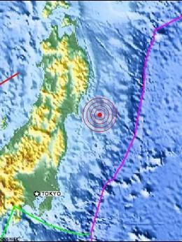 El terremoto de Japón.