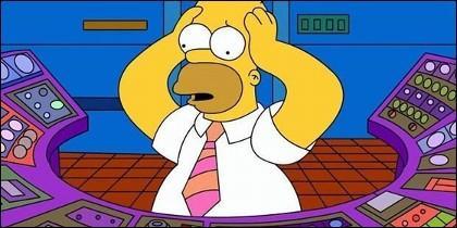 Capítulo de la serie 'Los Simpson' con Homer en la central nuclear del señor Burns.