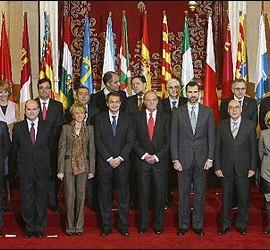 Conferencia de presidentes autonómicos.
