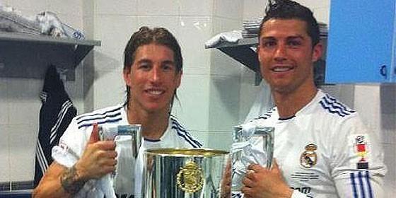 Sergio Ramos: «La Copa no se cayó, saltó ella cuando vio a ...