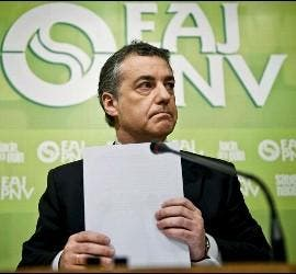 En la imagen, el presidente del PNV, Íñigo Urkullu.