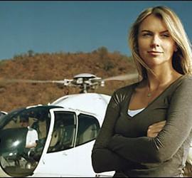 OSA FILIAL CORDOBA: LARA LOGAN,CORRESPONSAL DE LA CBS EN