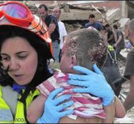 Imagen del terremoto de Lorca.