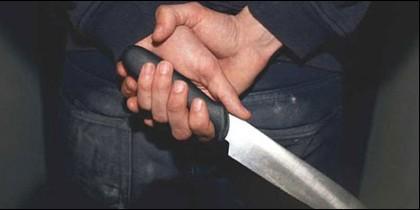 Puñal, cuchillo, navaja y crimen.