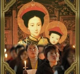 Oración por la Iglesia china