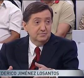 Captura del vídeo de Federico Jiménez Losantos en 'Con voz y voto'.