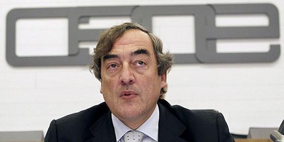 El presidente de la CEOE