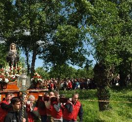 Procesión de la Virgen de Prado Nuevo de El Escorial