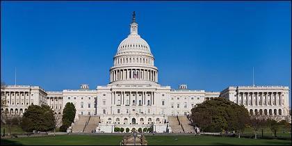 El Capitolio, sede del Senado y el Congreso de EEUU.