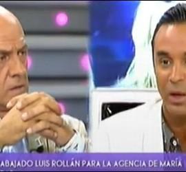 Kiko Matamoros y Luis Rollán.