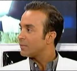 Luís Rollán en Sálvame Deluxe. 24 de junio de 2011.