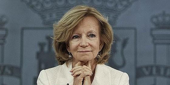 Elena Salgado.