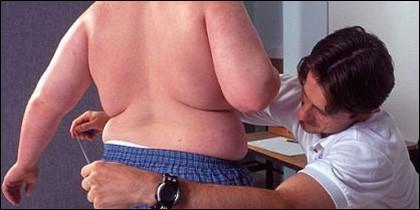 Obesidad, gordos, adelgazar y dieta.