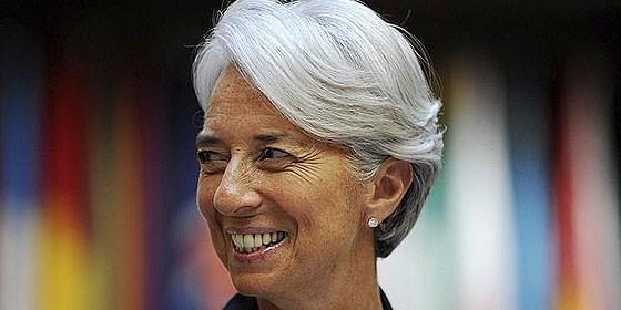 Christine Lagarde, nueva directora del FMI.