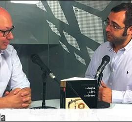 Javier Otaola durante la entrevista en Periodista Digital. - julio 2011-