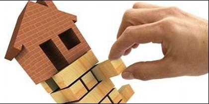 Vivienda, casa, crédito e hipoteca.