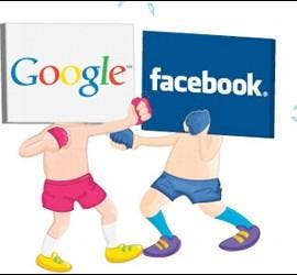 Google+ vs Facebook.