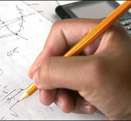 Estudiante, examen, escuela.