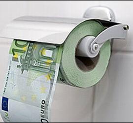 Dinero, euros y despilfarro público.