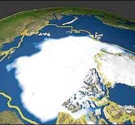 El deshielo en el Ártico.